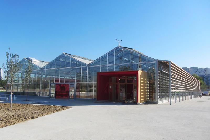 Serre p dagogique du grand parc de saint ouen construction21 for Livres architecture batiment construction