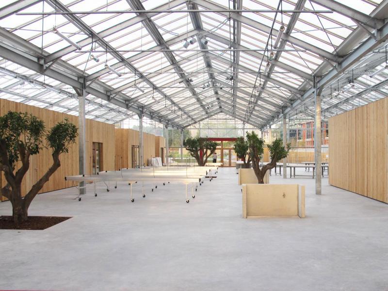 serre p dagogique du grand parc de saint ouen construction21. Black Bedroom Furniture Sets. Home Design Ideas
