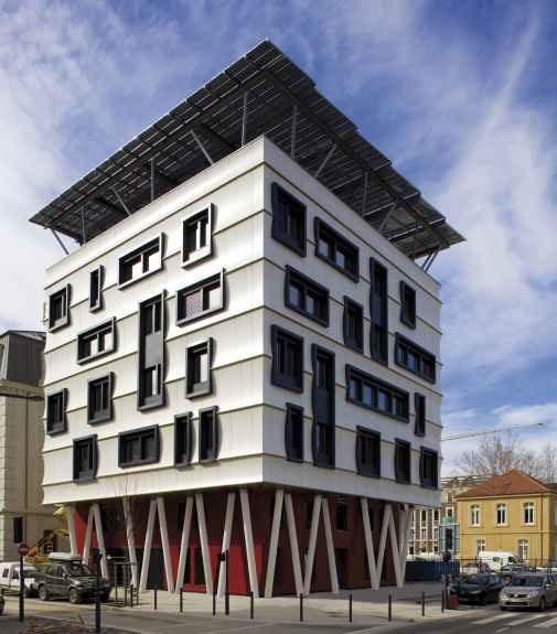 Bureaux bonne energie construction21 for Projet construction