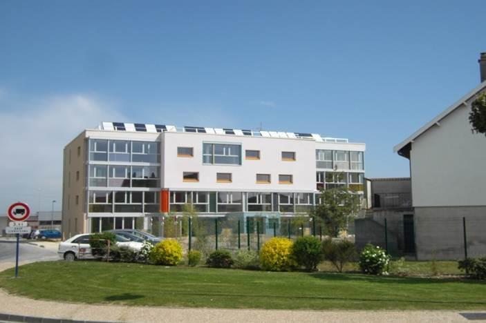 La clairi re immeuble de logements passif 51 for Cout construction neuf
