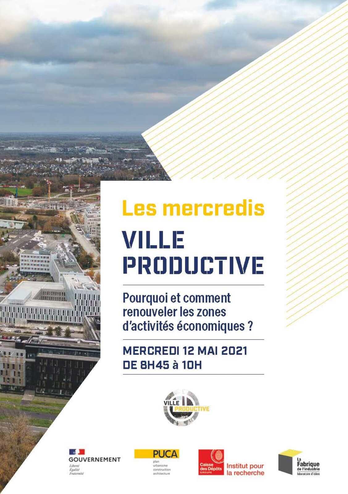 [Webinar] PUCA Ville productive  : Pourquoi et comment renouveler les zones d'activités économiques ?