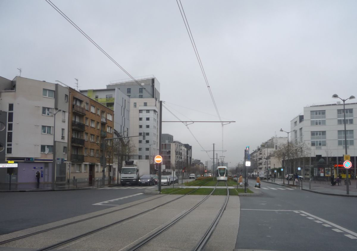 Tramway ZAC de la Marine