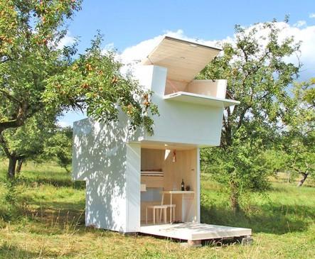 gr ce une cabane de m ditation inspir e par la vie pastorale construction21. Black Bedroom Furniture Sets. Home Design Ideas