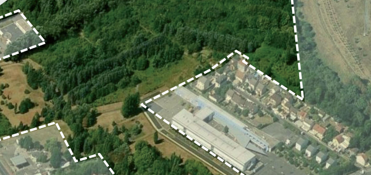 Le futur coquartier de la p pini re villepinte se fait for Piscine de villepinte