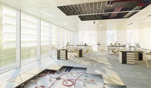 Immeuble de bureaux zenora labels bbc et hqe construction