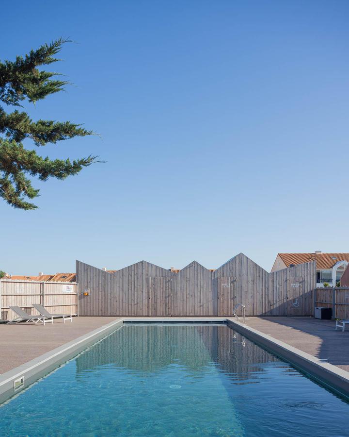 La ferme du marais girard construction21 - Cout piscine chauffee ...