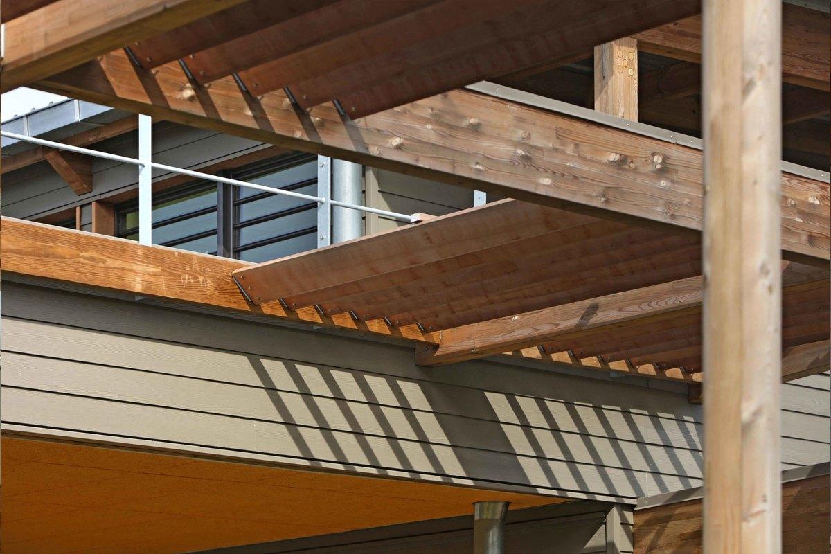 Groupe scolaire de bois d 39 olives construction21 for Construction bois 21