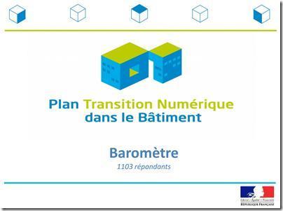 PTNB, le baromètre du numérique et du BIM dans le BTP