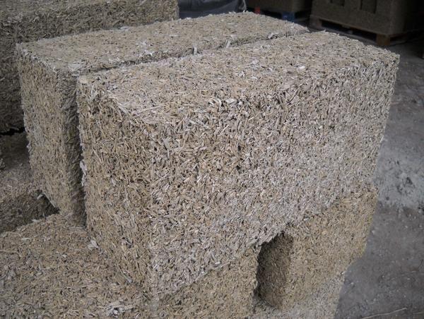 brique de béton de chanvre