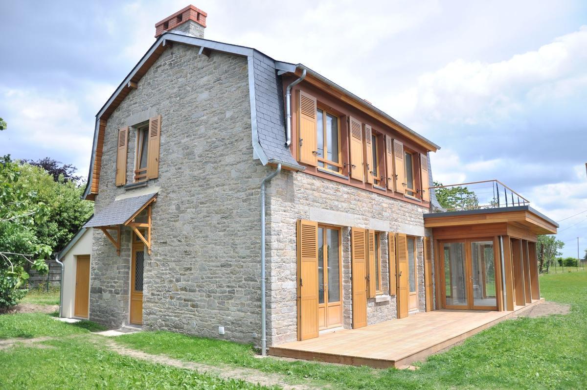 Rehabilitation Of A Stone House In Saint Cast Construction21