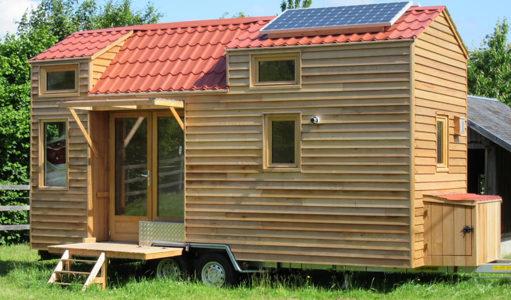 Tiny house une maison nomade alternative construction21 for Achete maison france