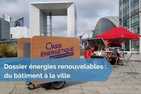 [Dossier énergies renouvelables] #20 - Produire, stocker et proposer gratuitement aux usagers d'un quartier de disposer d'énergies renouvelables locales