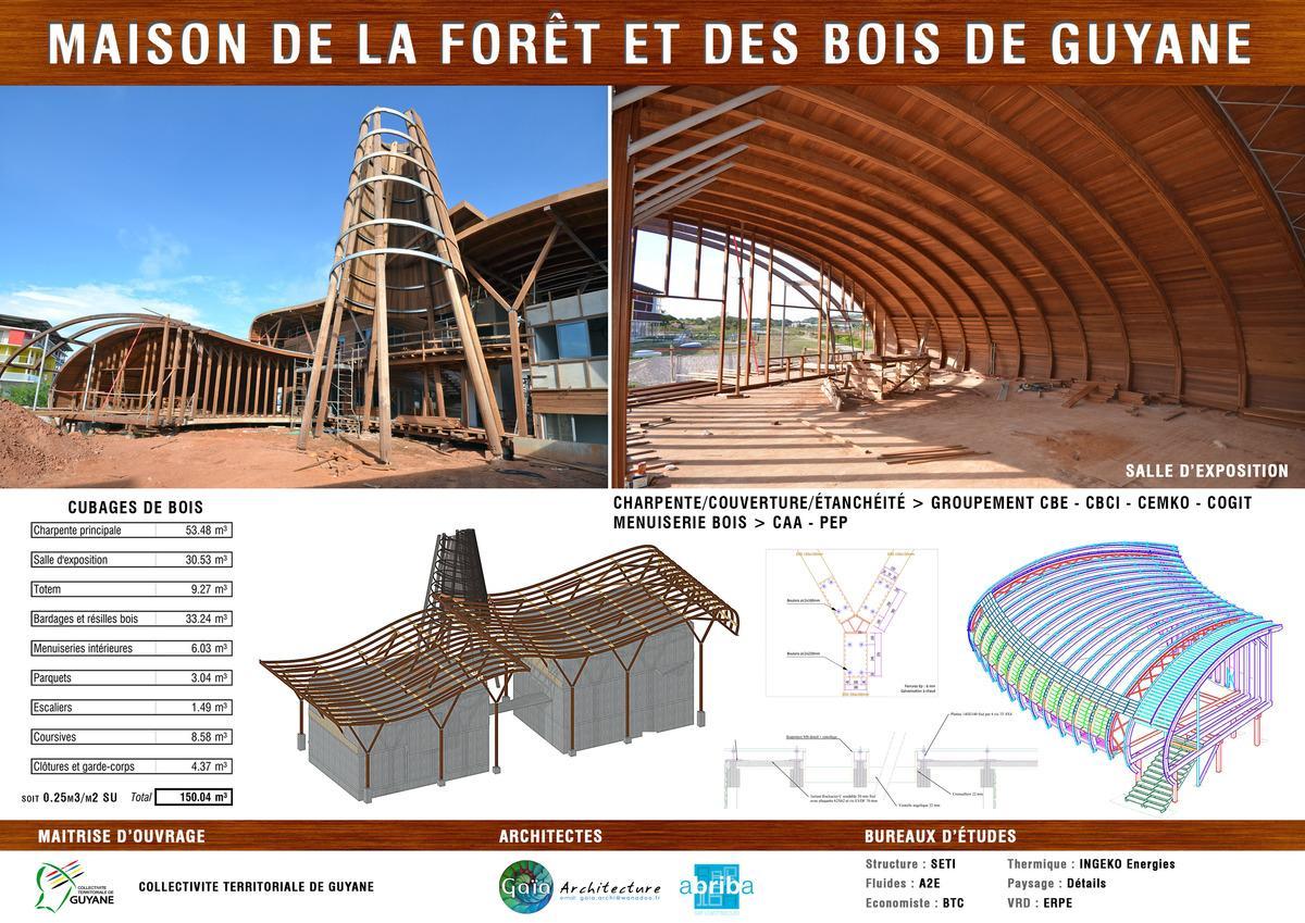 maison en kit guyane gallery of great jardin plus bois habitable fabricant maison en bambou en. Black Bedroom Furniture Sets. Home Design Ideas