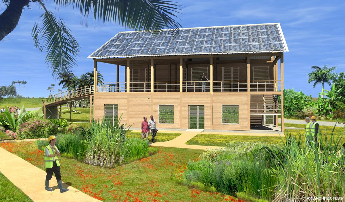 Cout construction maison guadeloupe for Cout construction maison