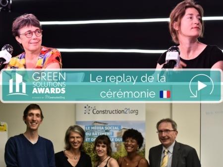 [Replay] Cérémonie France des Green Solutions Awards 2020-21