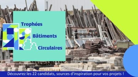 Trophées Bâtiments Circulaires : 22 projets exemplaires à découvrir