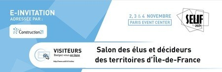 Salon des élus et décideurs des territoires d'Île-de-France