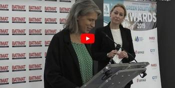 [Video] Ceremony of the Green Solutions Awards 2019, Batimat - Sustainable Construction Grand Prize (7/10)