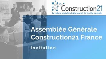Retrouvons-nous à l'Assemblée générale Construction21 France