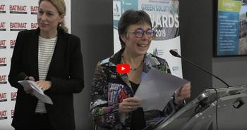 [Video] Ceremony of the Green Solutions Awards 2019, Batimat - Low Carbon Prize (4/10)