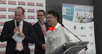 [Video] Ceremony of the Green Solutions Awards 2019, Batimat - Sustainable Renovation Grand Prize (6/10)