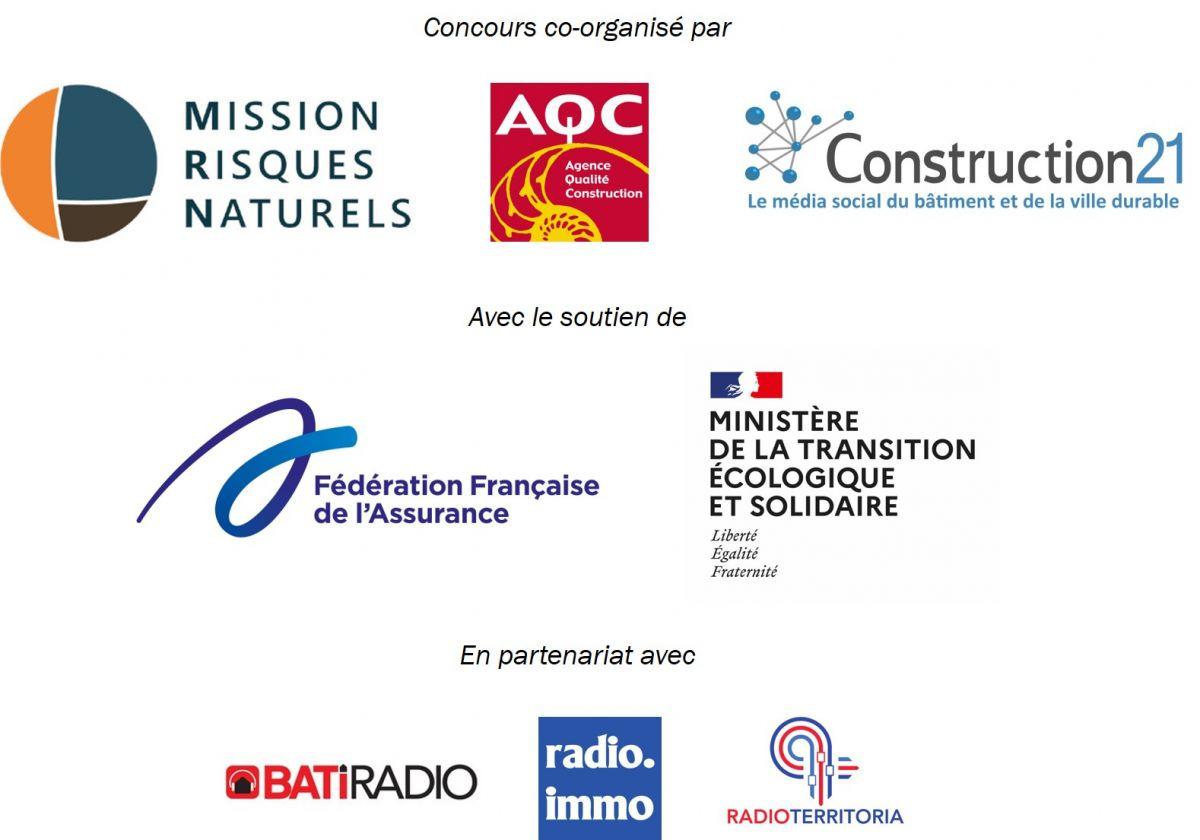 Partenaires Trophées Bâtiments Résilients