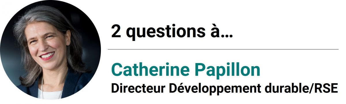 2 questions à Catherine Papillon