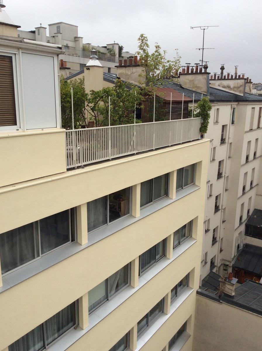 Copropriété rue de l'Asile Popincourt, Paris 11