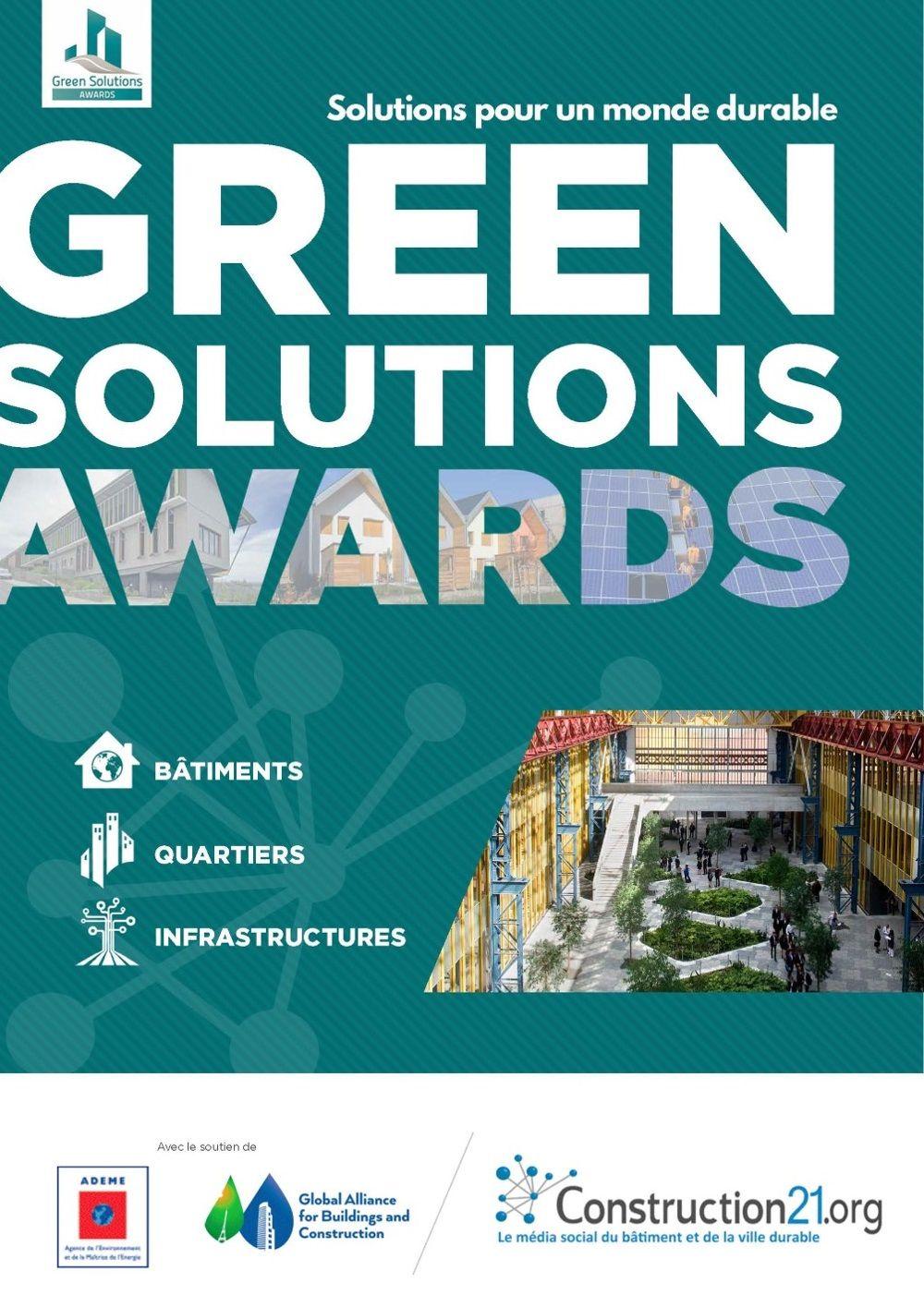 Brochure Green Solutions Awards 2018