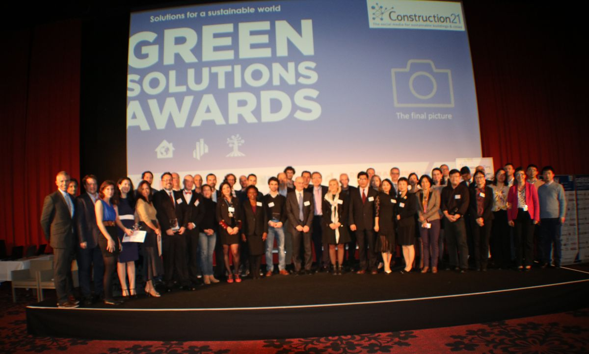 Cérémonie internationale Bonn Green Solutions Awards 2017