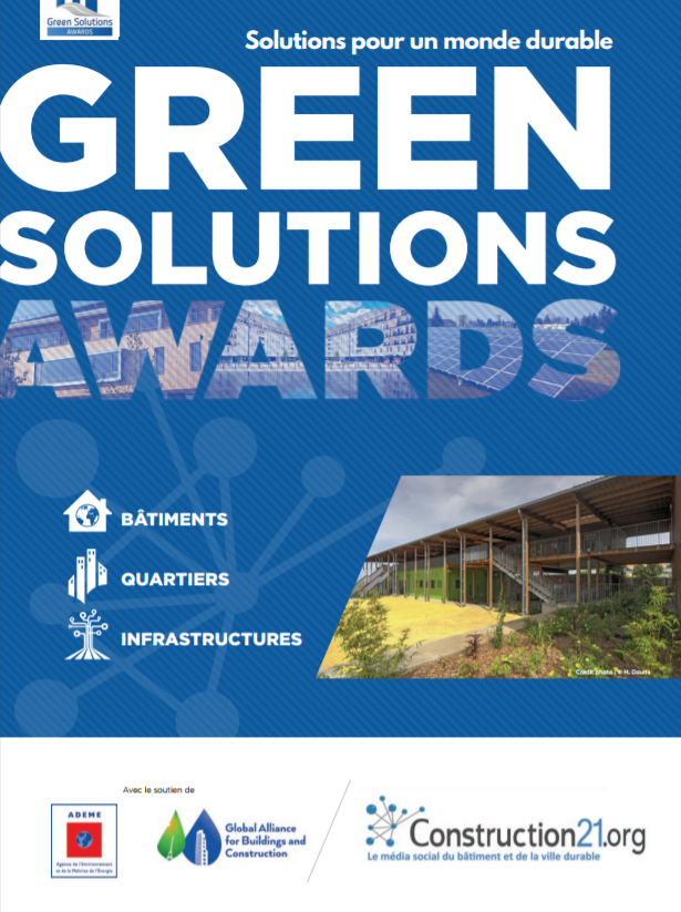 Couverture brochure Green Solutions Awards 2017