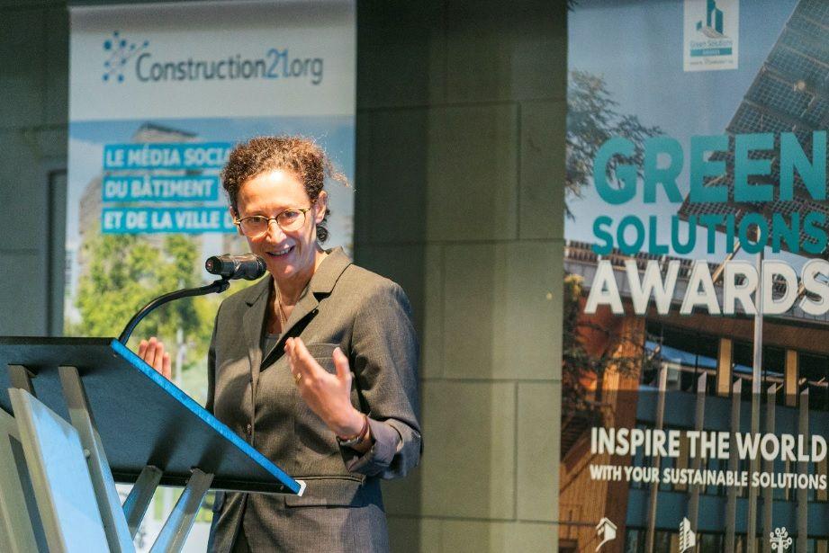 Emmanuelle Wargon Green Solutions Awards