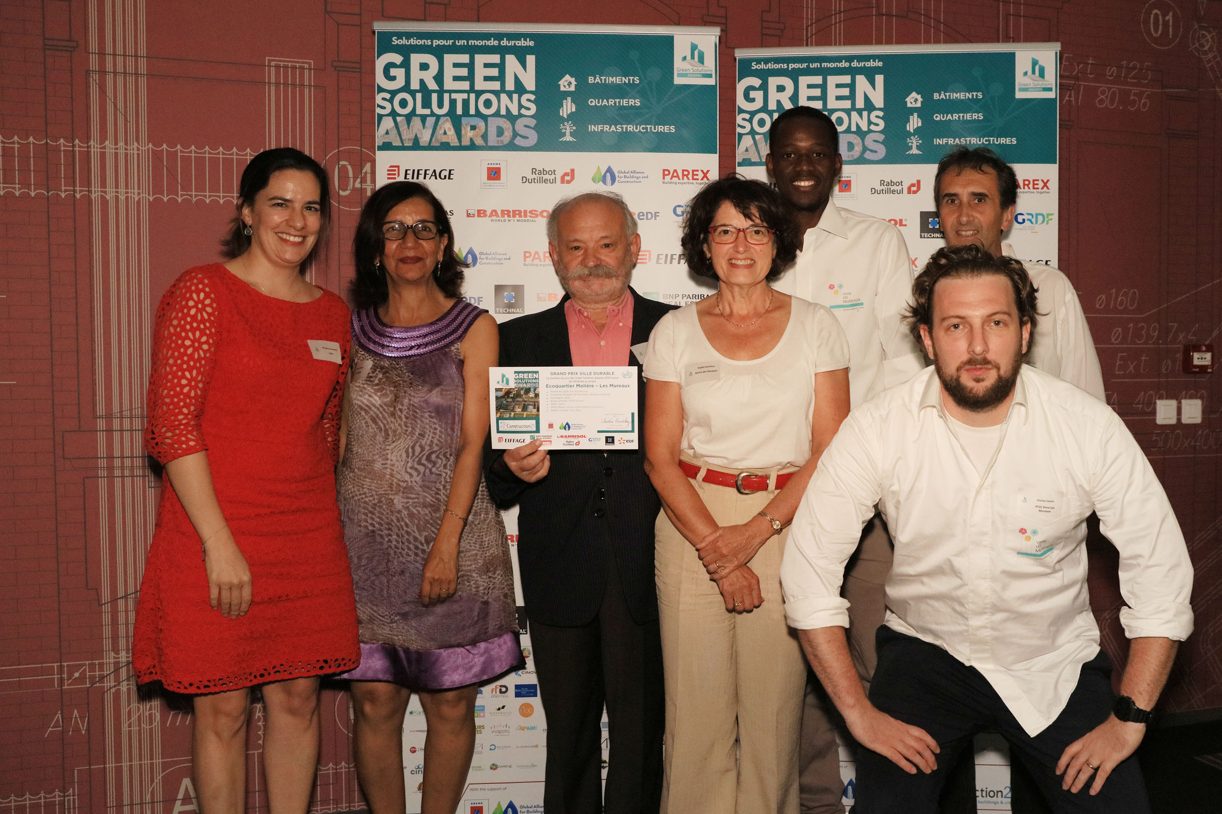 Cérémonie Green Solutions Awards 2018