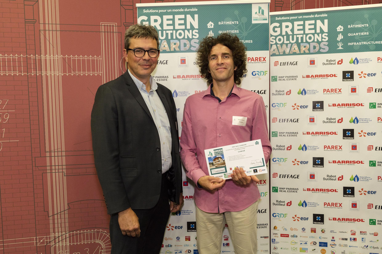 Cérémonie Green Solutions Awards 2018