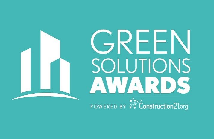 bâtiment durable, green solutions awards 2019