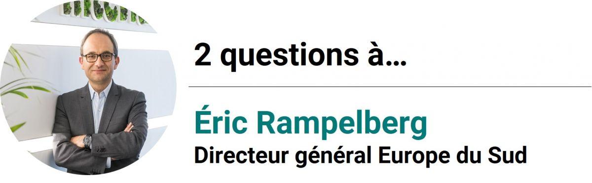 2 questions à Eric Rampelberg