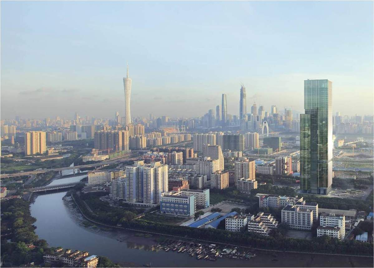 Sustainable Urban Planning and Building for Pazhou West Area in Guangzhou