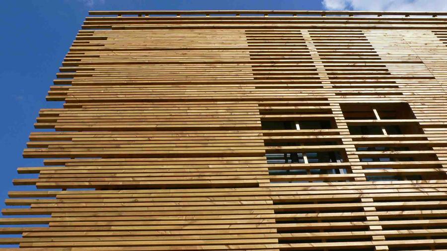 Bient t une marque de qualit pour le bardage en bois construction21 for Construction bois 21