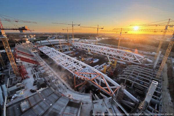 Pierre Mauroy Stadium Construction21