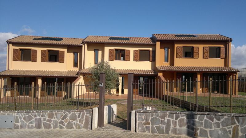 Ville a schiera prospicenti la Rupe di Orvieto - Construction21