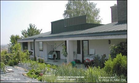 Casa solare a onigo di piave construction21 for Costo medio a lato di una casa a 2 piani