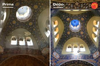 Conservative restoration project of the Orthodox Cathedral of St. Nicholas in Nice