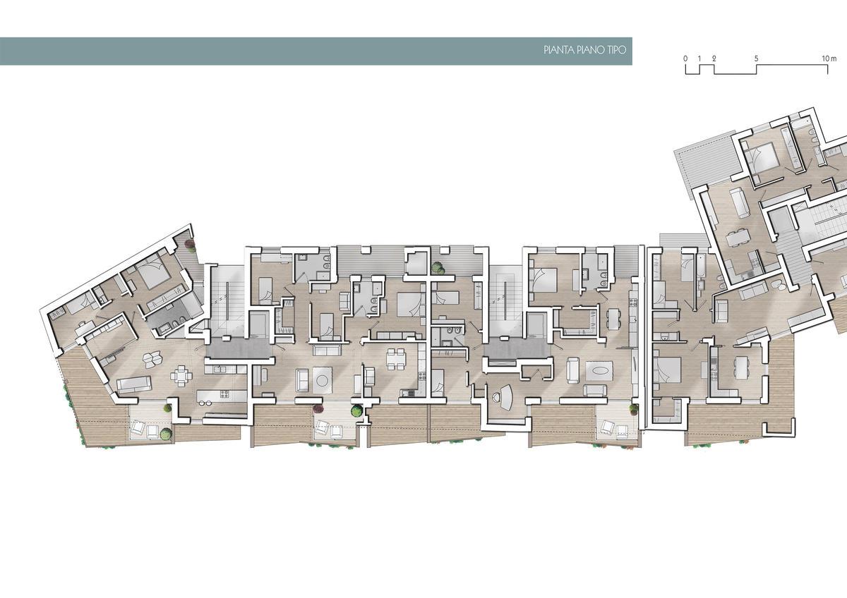 Case di luce edificio residenziale nzeb bisceglie for Nuove case a un piano