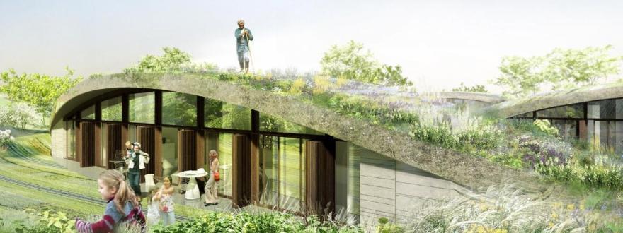 construire soi m me un toit v g talis c est possible. Black Bedroom Furniture Sets. Home Design Ideas