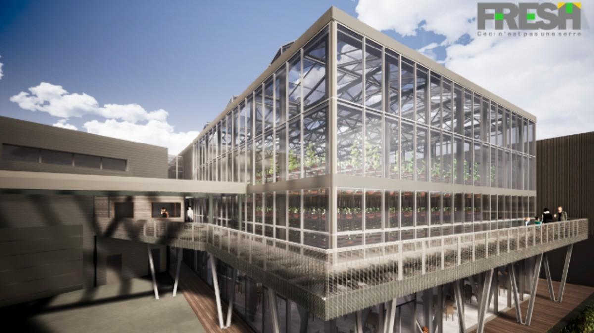 MASTER CLASS - Construction d'une serre sur un toit