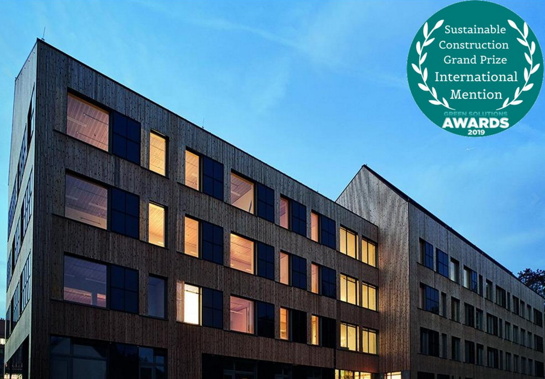 quarier et ville durable, green solutions awards