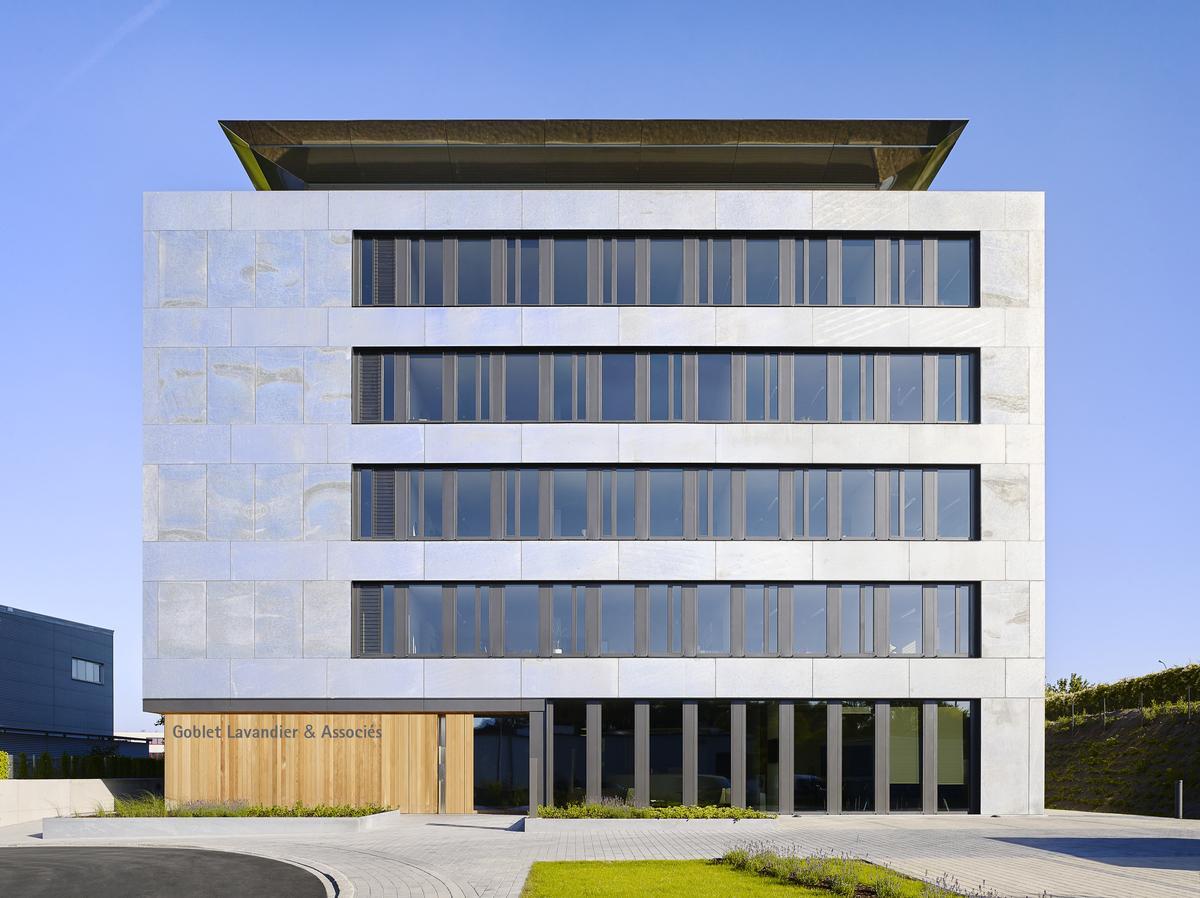 Bâtiment de bureaux Goblet Lavandier & Associés Ingénieurs-Conseils S.A.