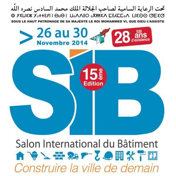 15 me dition du salon international du b timent sib for Salon du batiment casablanca