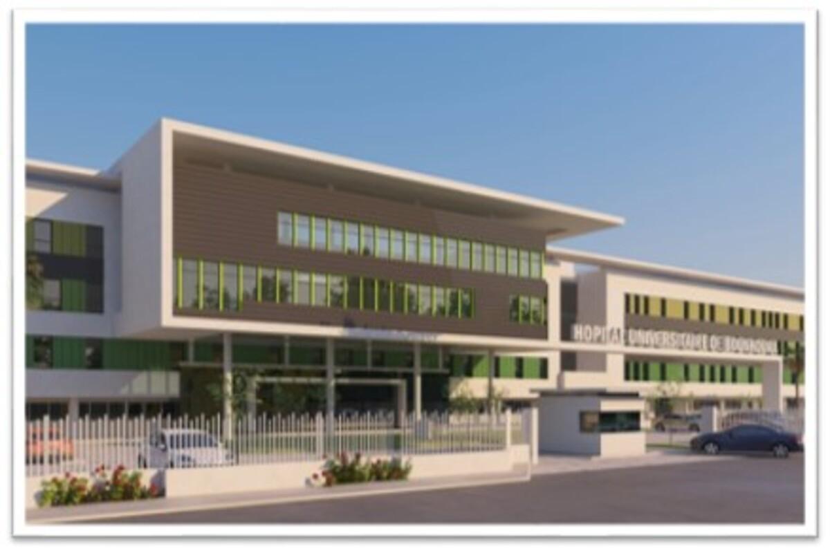 L'hôpital Universitaire International Mohammed VI