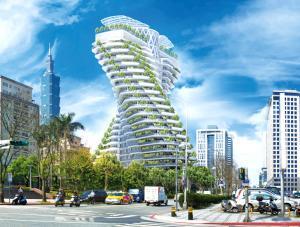 Tour Agora Garden : Une philosophie 100% écologique